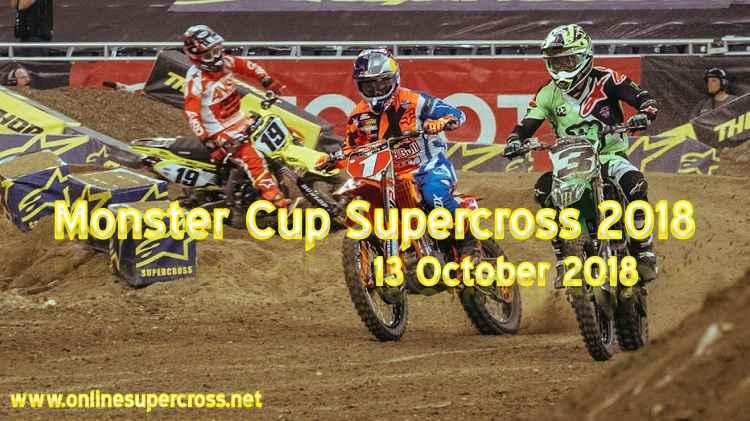 Watch Monster Cup Supercross 2018 Live
