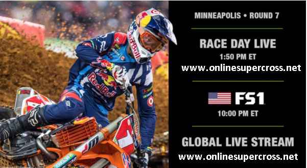 2017 Minneapolis Supercross Broadcast Schedule