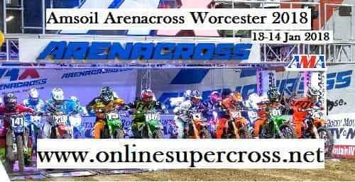 2018 Amsoil Arenacross Worcester Live