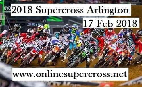 2018 Supercross Arlington Live