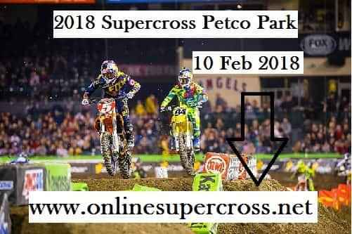 2018 Supercross Petco Park Live Stream