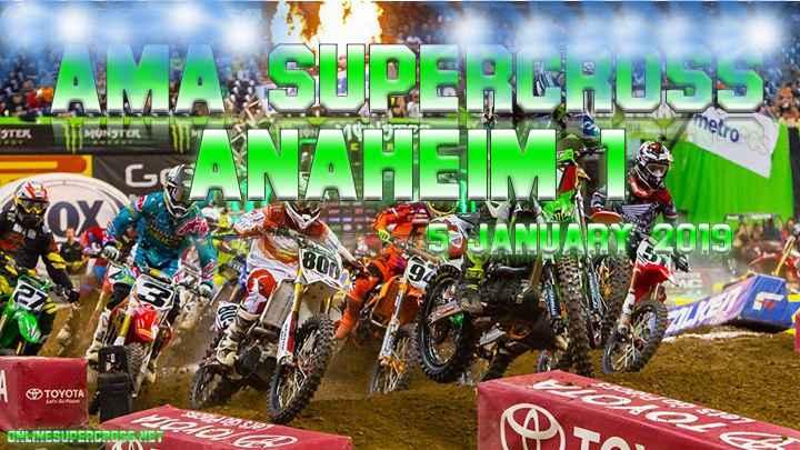 Anaheim Supercross 2019 Live