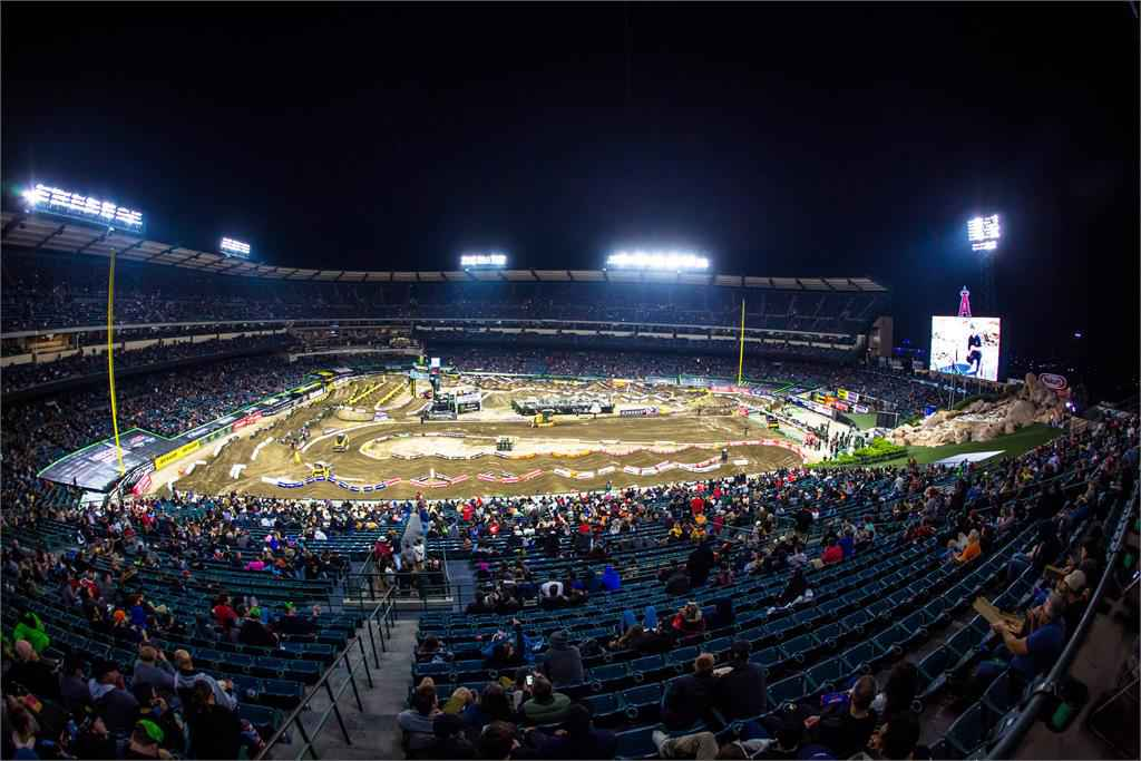 Monster Energy Supercross Anaheim Stadium