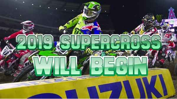 2019 Supercross just around the corner