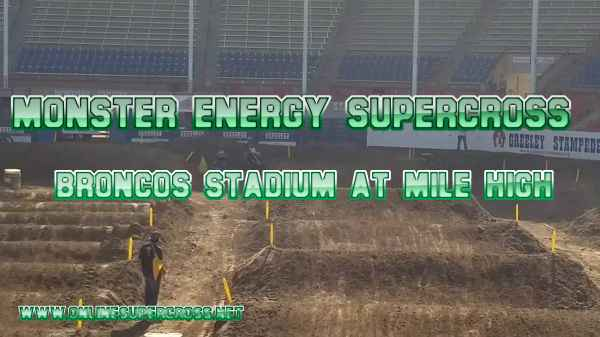Supercross Broncos Stadium at Mile High