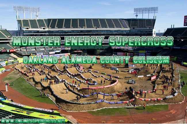 Supercross Oakland Alameda Stadium