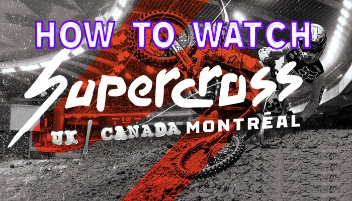 How To Watch Supercross Live In Canada and UK
