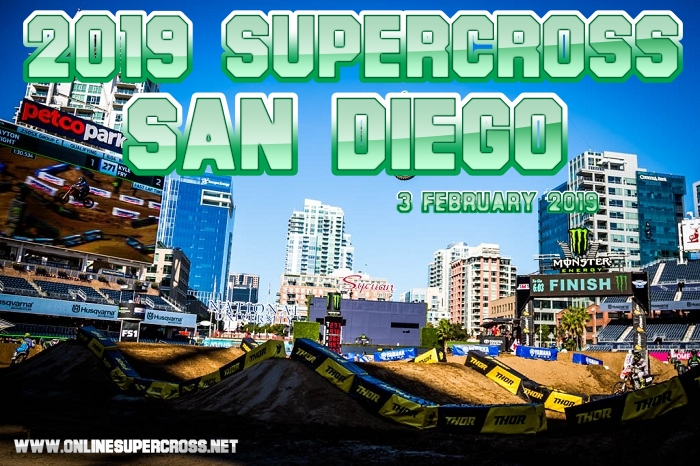 2019 Supercross San Diego Round 5