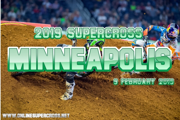 Supercross Minneapolis 2019 Race Live Stream