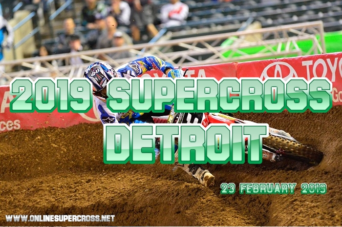 Supercross Detroit Live Stream 2019