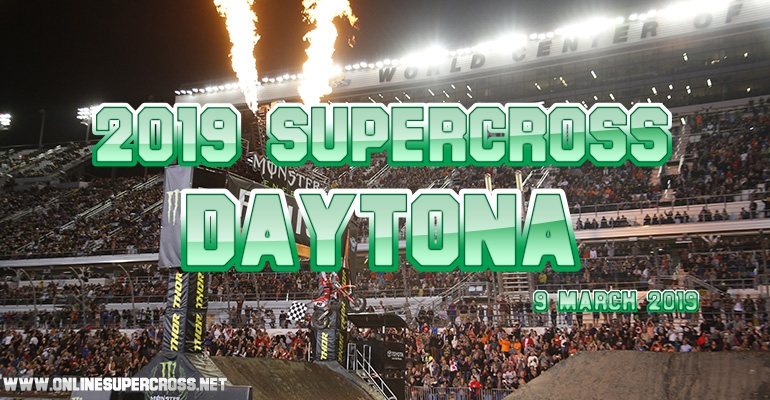 Supercross Daytona Live Stream 2019