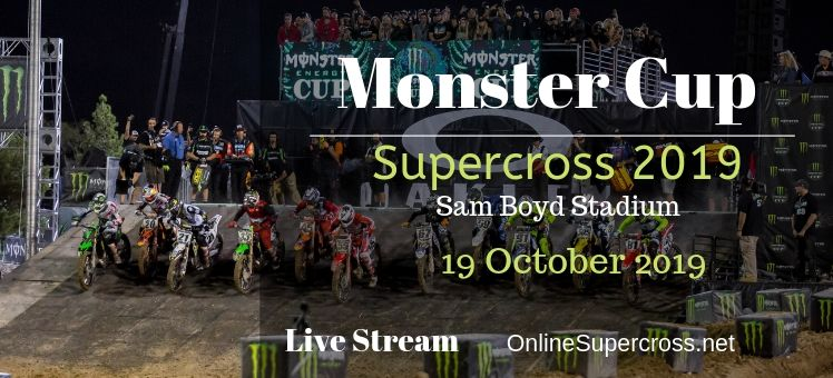 Supercross Monster Cup Live
