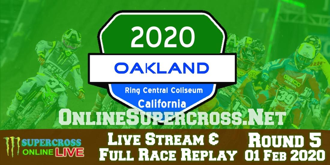 AMA Supercross Oakland Live Stream