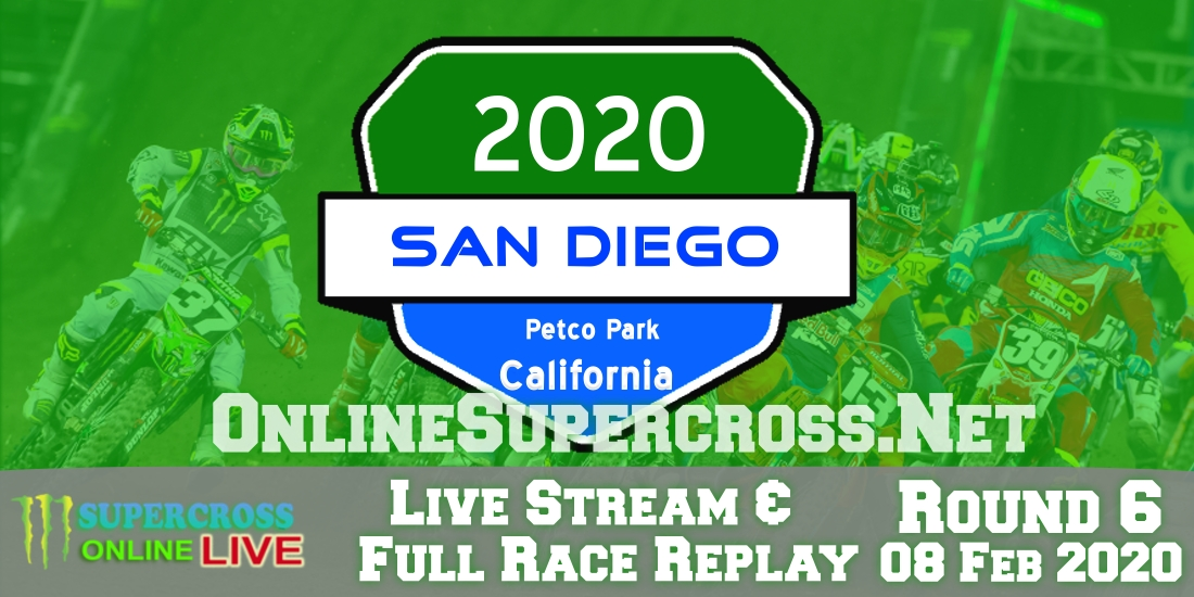 Watch Supercross San Diego at Petco Park Live