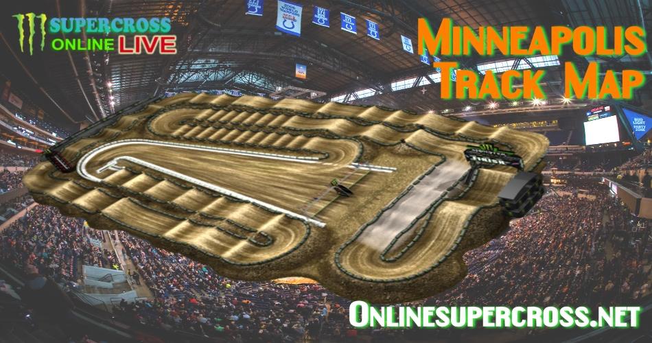 2017 Minneapolis Track Map