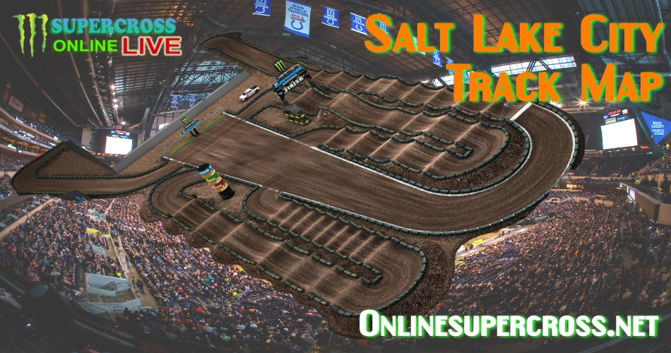 2017 Salt Lake City Track Map