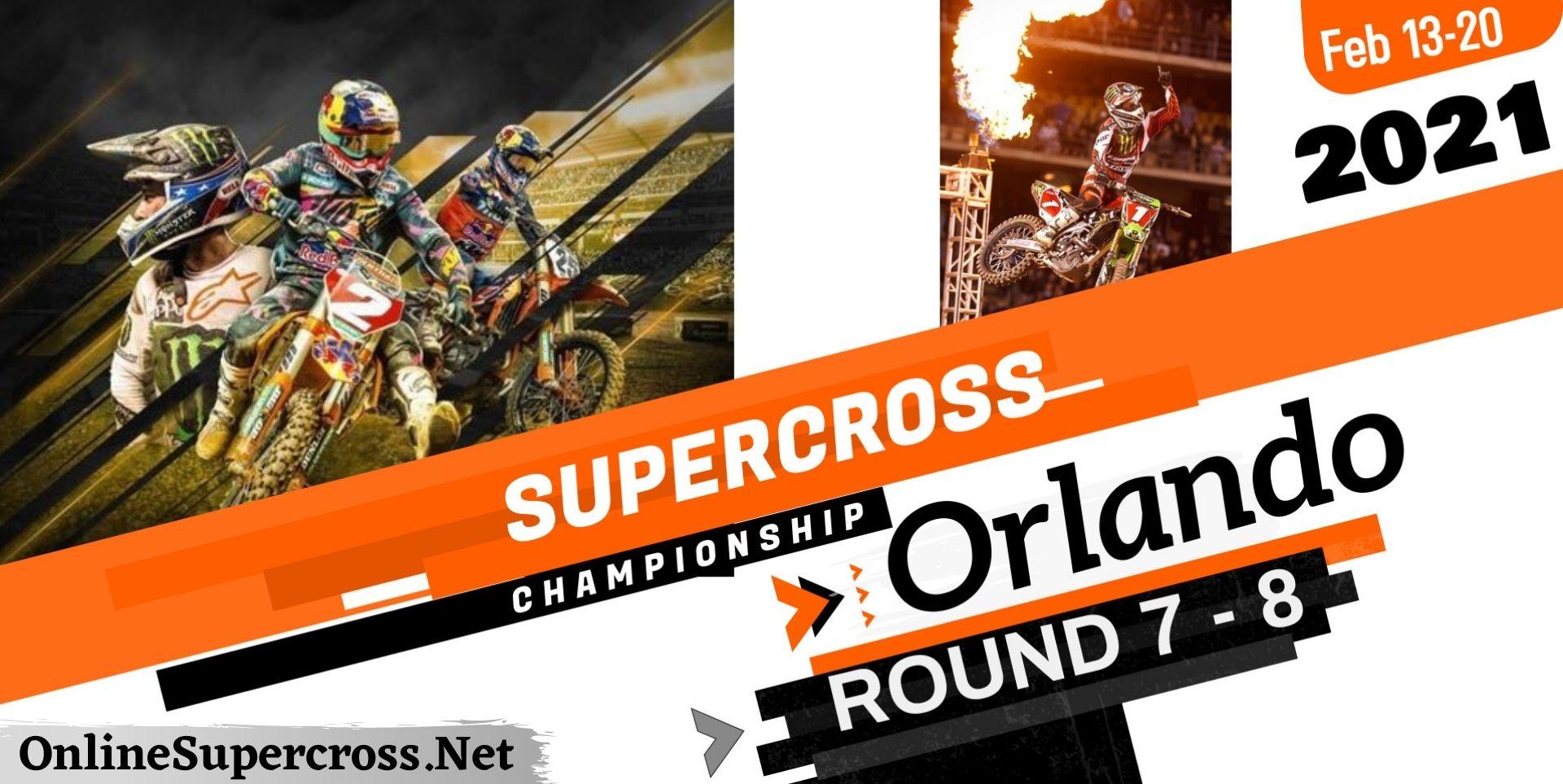 AMA Supercross Orlando Live Stream