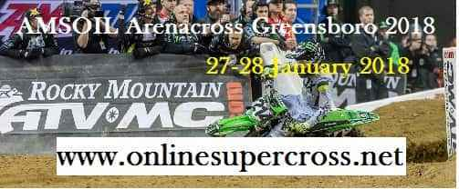 AMSOIL Arenacross Greensboro Live Stream