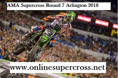 AMA Supercross Round 7 Arlington Live Stream