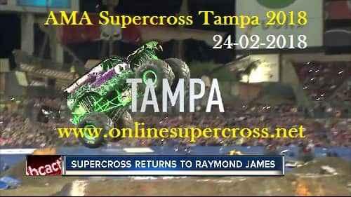 AMA Supercross Tampa 2018 Live