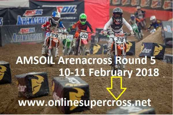 AMSOIL Arenacross Madison Live Stream