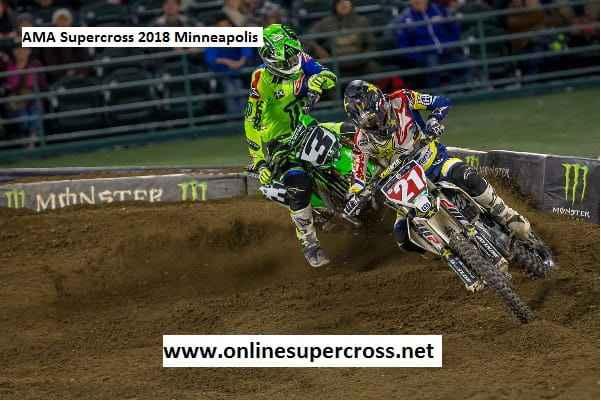 Live AMA Supercross 2018 Minneapolis Stream