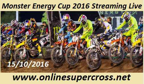 Monster Energy Cup 2016 Streaming Live