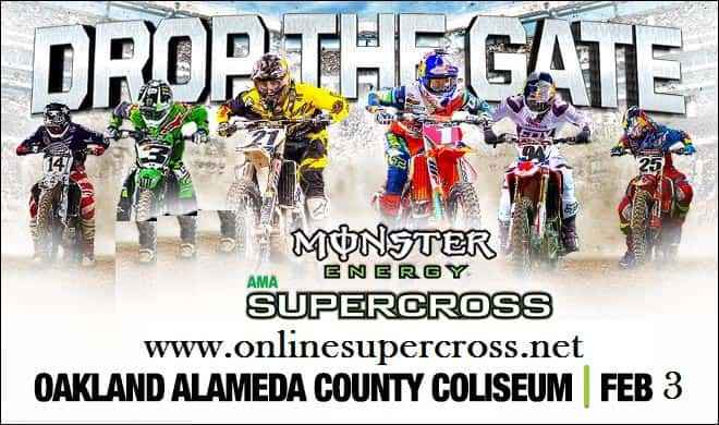Supercross Oakland 2018 Live
