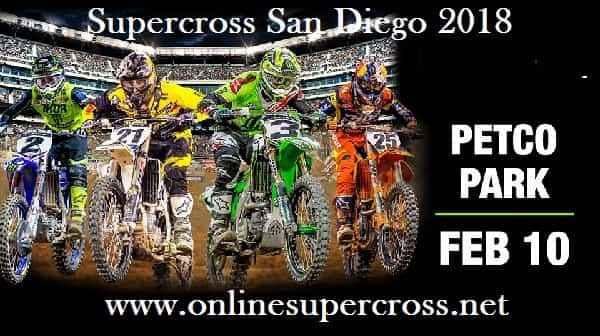 Supercross San Diego 2018 Live