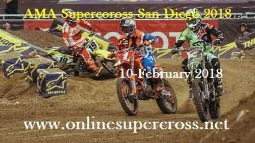Watch AMA Supercoross San Diego Live