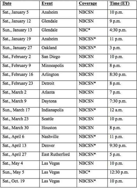 Supercross 2019 with NBCSN