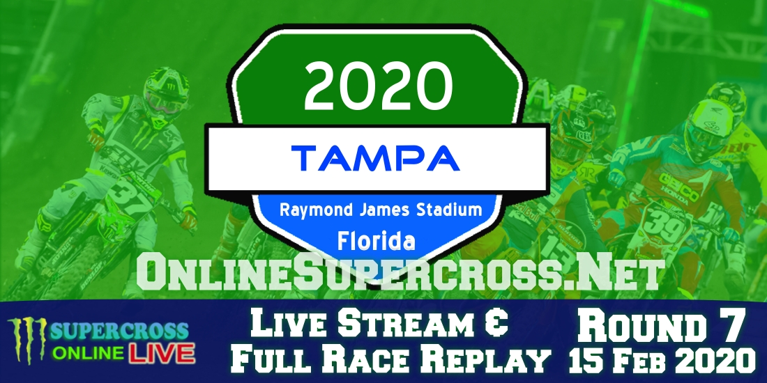 Tampa Supercross Live Stream 2020 | Full Race Replay