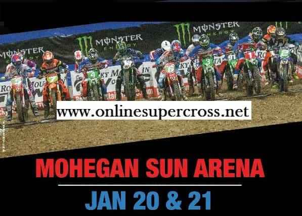 AMSOIL Arenacross Wilkes Barre Round 3 Live