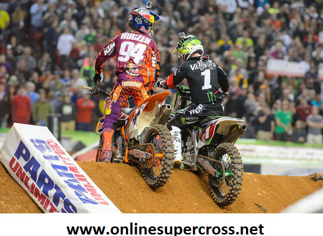 2015 AMA Supercross at Levis Stadium