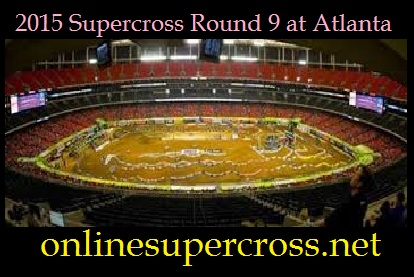 2015 Supercross Round 9 at Atlanta