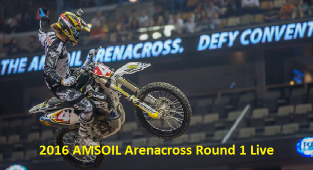 Watch 2016 AMSOIL Arenacross Round 1 Online
