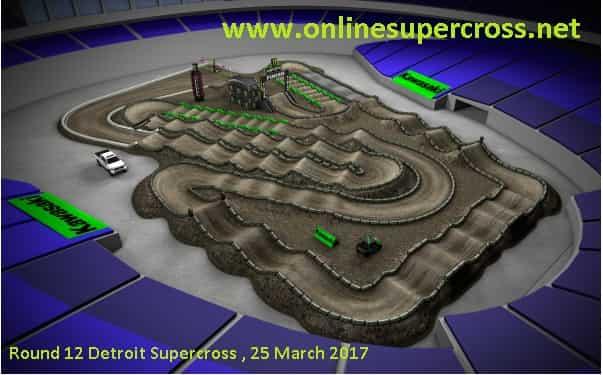 Detroit Supercross live online