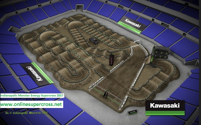 Indianapolis Monster Energy Supercross live