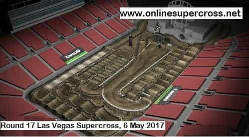 2017 Las Vegas Track Map