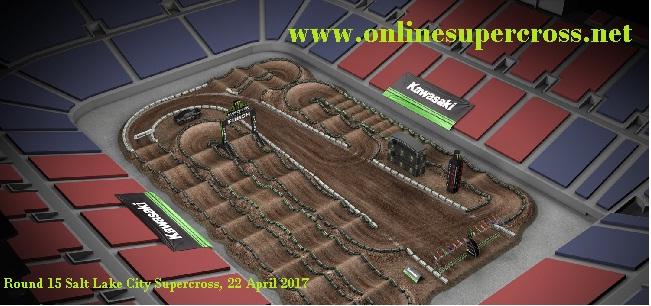 Salt Lake City Supercross Rd 15