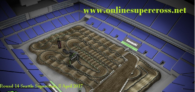 Round 14 Seattle Supercross live
