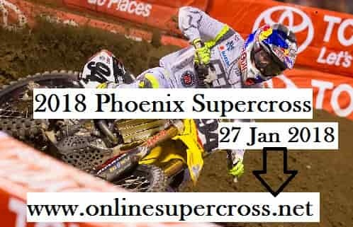 2018 Phoenix Supercross