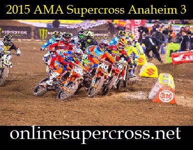 AMA Supercross Anaheim 3