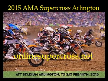 AMA Supercross Arlington 2015