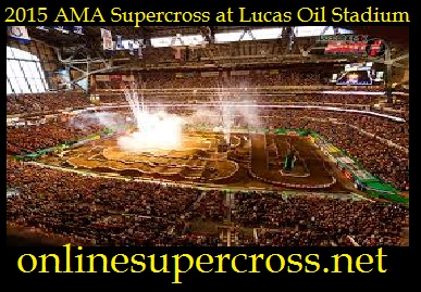 AMA Supercross at Lucas Oil Stadium