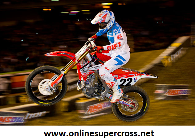 AMA Supercross at NRG Stadium 2015