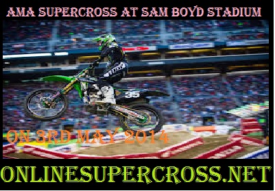 AMA supercross at Sam Boyd Stadium