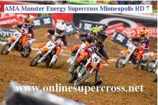 AMA Monster Energy Supercross Minneapolis live