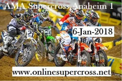 AMA Supercross Anaheim 1