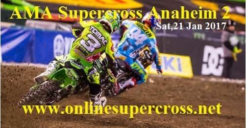 AMA Supercross Anaheim 2 live